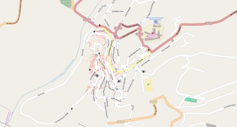 Patti su OpenStreetMap